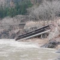 【岩泉・台風10号被害】流されてしまった橋