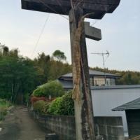 【熊本地震点景】割れた鳥居