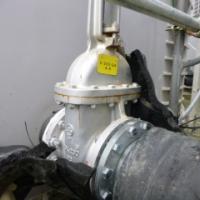 G4エリア高濃度汚染水の水漏れで写真公開