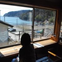 3月11日の光景。蛤浜に誕生した一番素敵なカフェ