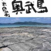 奥武島(久米島町) - 東洋に2つとない畳石(沖縄・沖縄諸島)