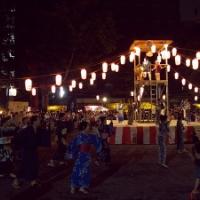 日本の夏。伝統芸能・盆踊り