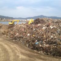 東日本大震災・復興支援リポート 「大槌町のがれき」