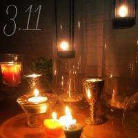 【まとめ】3月11日。キャンドルの灯りが東北に届きますように