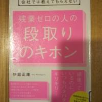 【書籍】 残業ゼロの人の段取りのキホン_伊庭正康