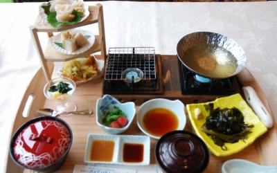 「陸前高田ホタテとワカメの炙りしゃぶしゃぶ御膳」に込められた誇りとこだわり