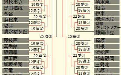 『強い』以外の言葉が見つからない!112校の頂点は静岡高校!