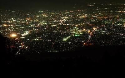 【写真記事】富士市の夜景と日の出
