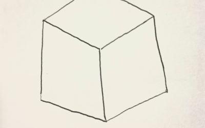 絵を描こう! 〈立方体〉