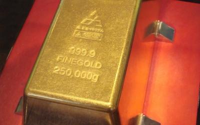 黄金と温泉