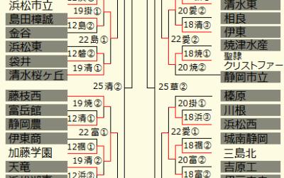 勝ち残れるのはわずか8チーム!準々決勝への切符を手にするのは? ~ 高校野球静岡大会