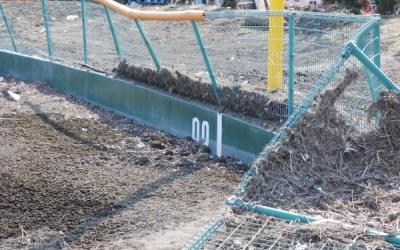 【岩泉・台風10号被害】土砂に埋まった野球場