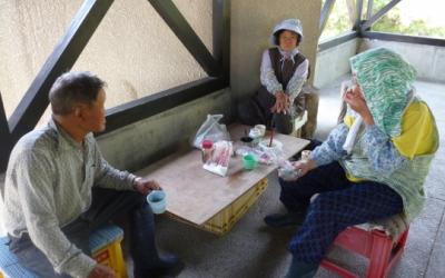 宮戸島の昼休み