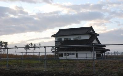 仙台空港の近くに個人が残した震災遺構