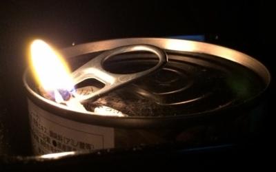 【災害に遭う前に】ツナ缶ランプを実験してみた