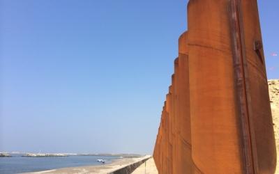 海辺の地をゆく「石巻市・雲雀野町」2015年8月2日