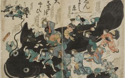 鯰絵(なまずえ)から知る、災害時の江戸の人々