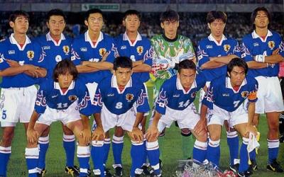【サッカー日本代表】 歴代ユニフォーム大辞典 1996-99 《炎モデル》