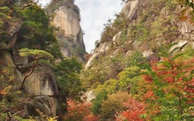 昇仙峡の紅葉