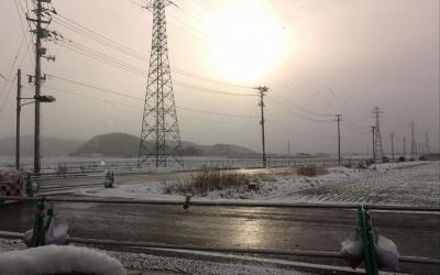 3月11日、やはり雪が降る・・・