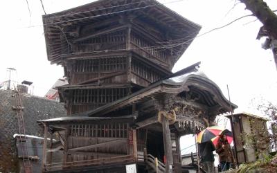 【東北の名所】江戸時代の稀有な仏堂 ~会津さざえ堂~