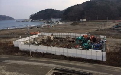 【遺構と記憶】女川・江島共済会館がほぼ解体される