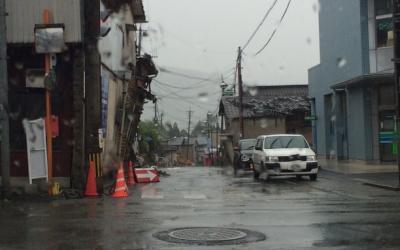 【熊本地震点景】震度7に見舞われた益城町の被害