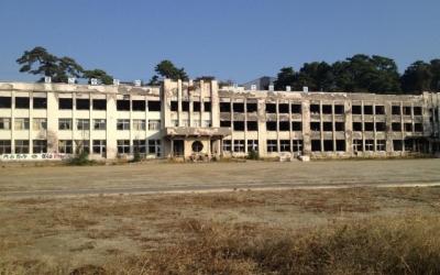 東日本大震災・復興支援リポート 「津波から、そして津波火災から奇跡的に難を逃れた小学校」