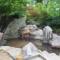 森の中にあるワイルドな露天風呂 ~雨飾高原露天風呂~