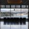 ホテル観洋の窓辺の椅子から見える風景