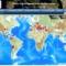 ヨーロッパ地中海地震学センターの地震マップ