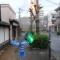【熊本地震点景】足のない幽霊のような街路灯