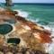 赤く染まる海!硫黄島(いおうじま)から溢れ出る温泉【湯めぐり島旅】