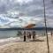 長須賀つながりビーチ子ども海広場で安全祈願祭