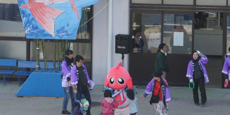 粟島のもうひとつのゆるキャラ!「泡姫ちゃん」【旅レポ】