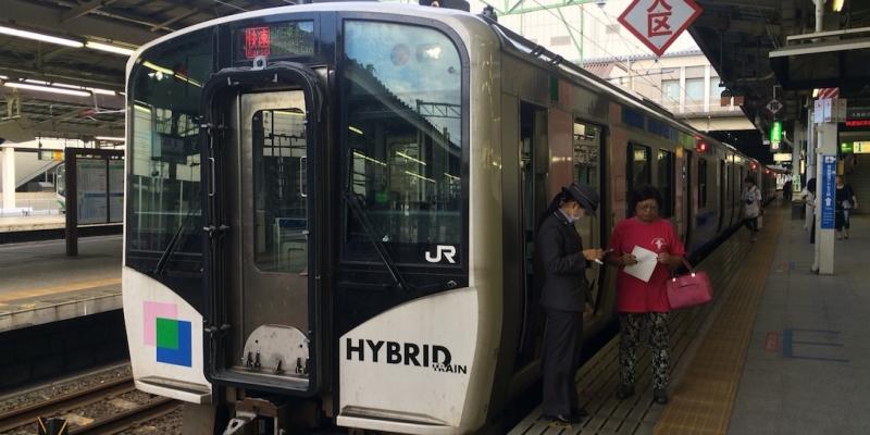 仙石東北ライン、仙台駅では乗り場に注意