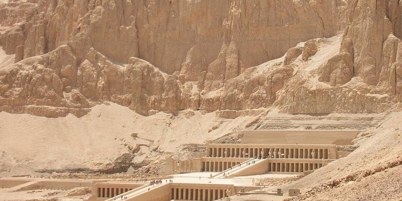 【世界一周の旅 Vol.27】古代都市テーベでの遺跡巡り♪