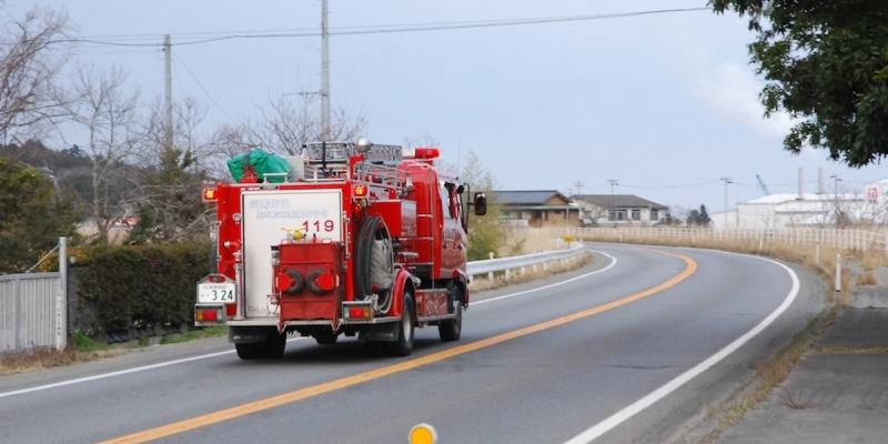 国道6号線で起きた事故