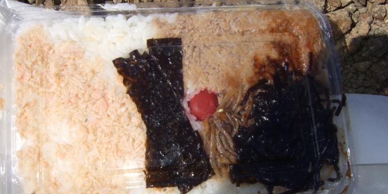 大して美味しくはないけど、意外とウマイ「礼文島・圧縮弁当」【島グルメ】