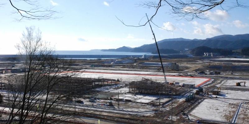 陸前高田の新しい町への動きを目の当たりにできる場所