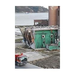 小さな写真ですが後ろに解体前のマリンパルの建物があった頃(2011年11月)