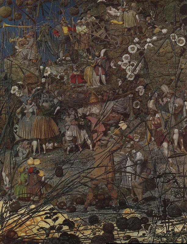 リチャード・ダッド「お伽の樵の入神の一撃」