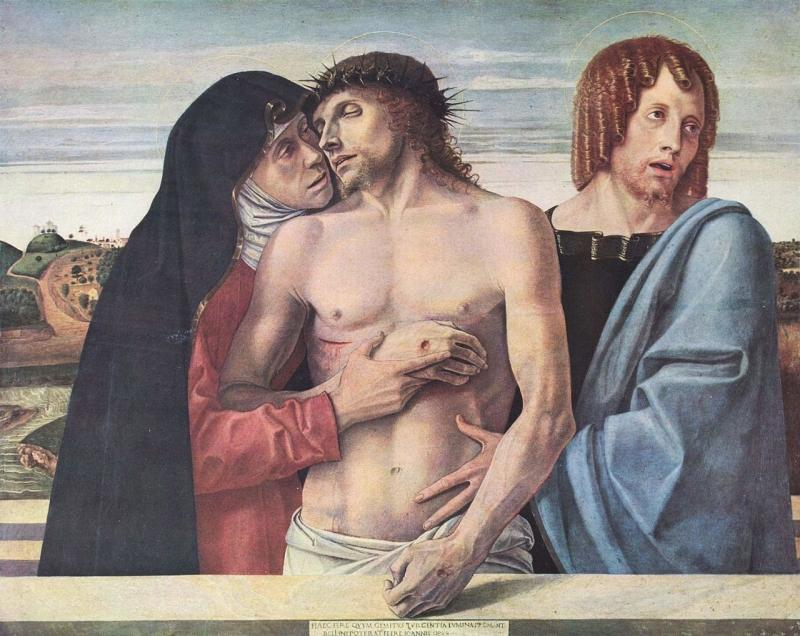 ジョヴァンニ・ベッリーニ「ピエタ」