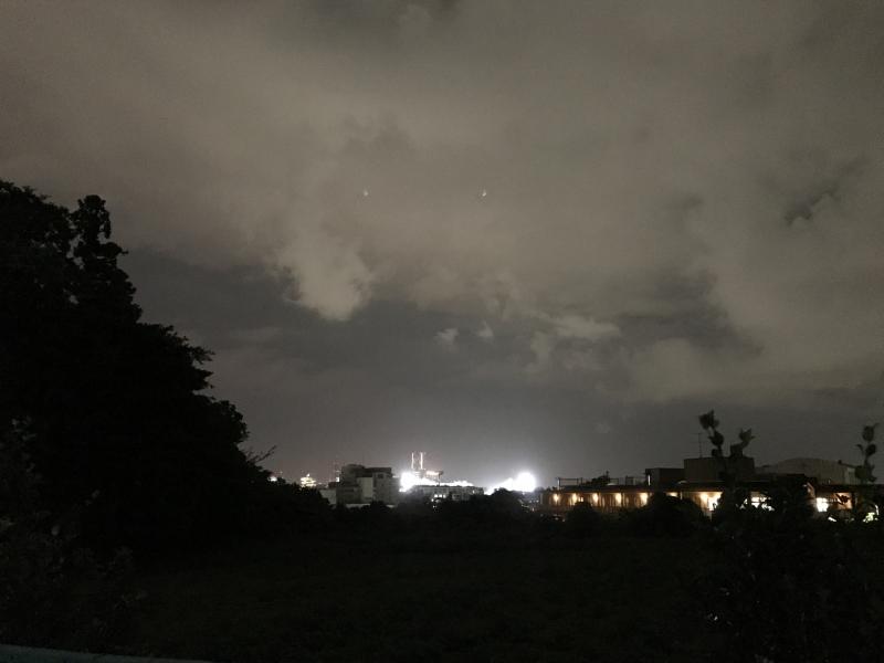 帰り際、もう一度違う場所から振り返ってみましたがやっぱり「雲」・・・