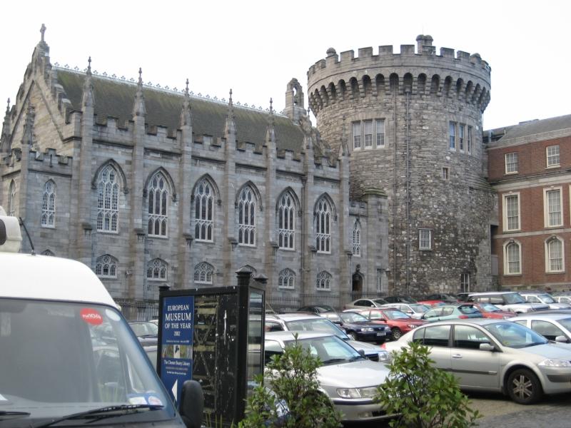 ダブリン城のチャペル。重厚な感じが素敵