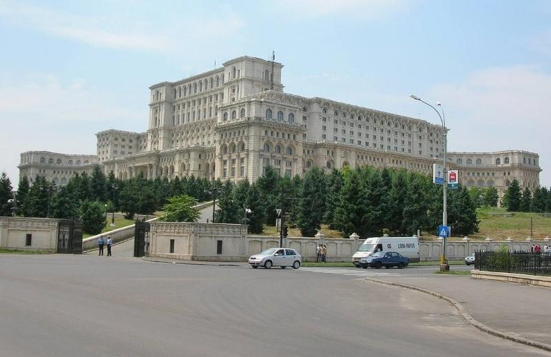 ルーマニアの首都・ブカレストにある「国会宮殿」