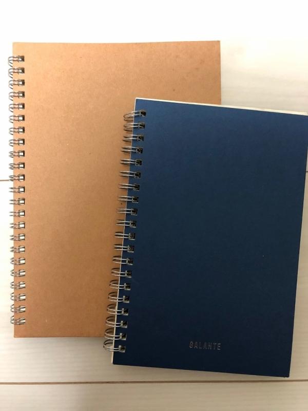 左が息子用ノート、右が娘用ノート