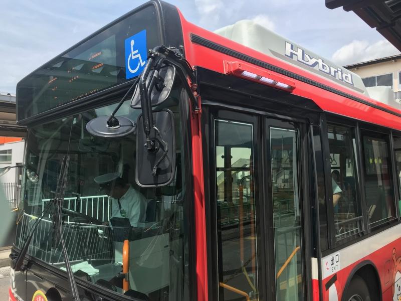盛駅から気仙沼駅までは「BRT(バス高速輸送システム)」を利用します。