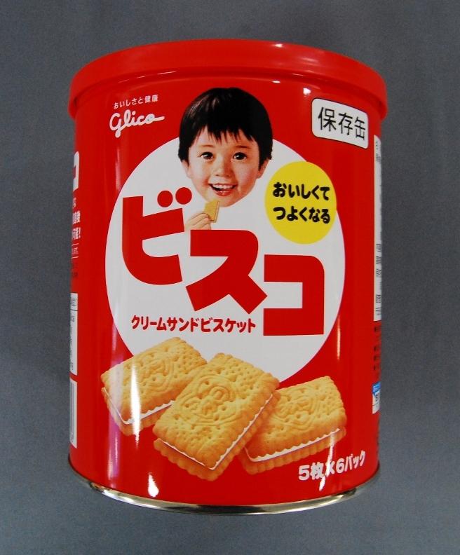 「ビスコ」の保存缶