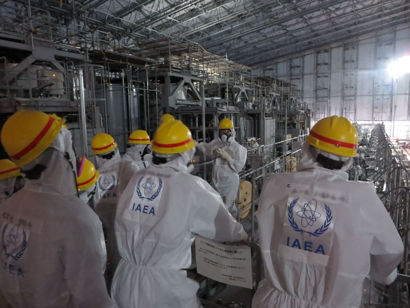 多核種除去設備(ALPS)内の様子(東京電力「IAEA福島第一原子力発電所ご視察」平成25年11月27日掲載)より引用